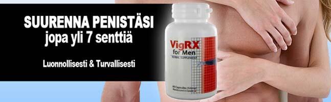 VigRX Peniksen pidennys ja erektiovalmiste